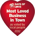 Most loved business
