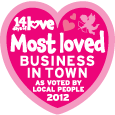 Most Loved Business in Town 2012