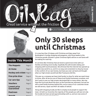 The Oily Rag