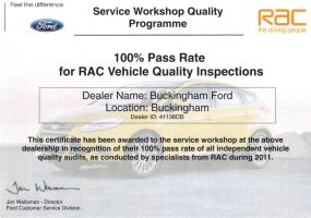 Independent inspection by the RAC