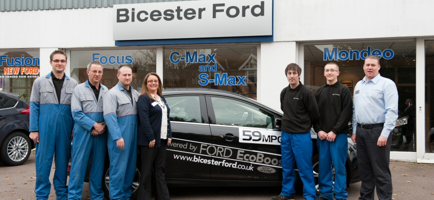 Bicester ford for Family motors auto repair