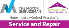 We abide by The Motor Ombudsman Code of Practice