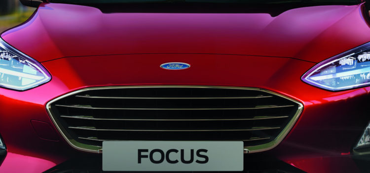 How do I open the bonnet of my Focus?