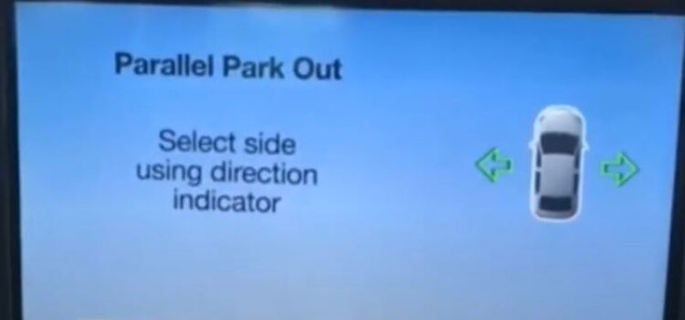 How does the Auto Park Assist work?