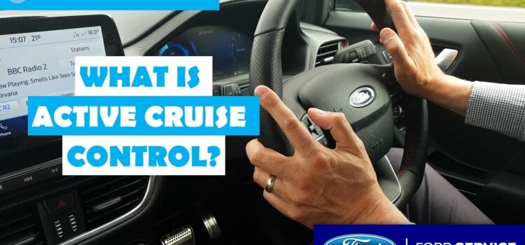What is Active/Adaptive Cruise Control?