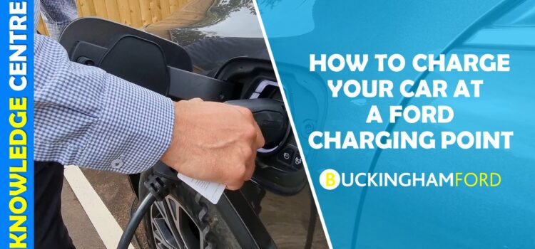 How to charge your car at a Ford charging station