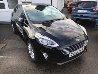 Ford Fiesta Titanium Automatic Demonstrator