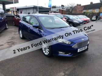 Ford, Focus, Titanium Auto