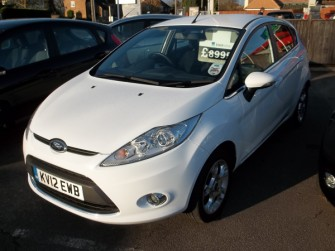 Ford, Fiesta, Zetec 1.25 5 Door