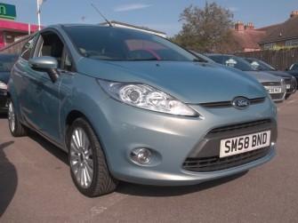 Ford, Fiesta, Titanium 1.4 Automatic 3 Door