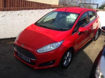 Ford, Fiesta, Zetec 1.0 100ps Ecoboost