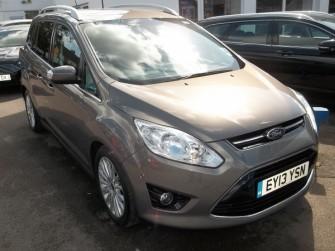 Ford, Grand C Max, Titanium 1.0 Ecoboost