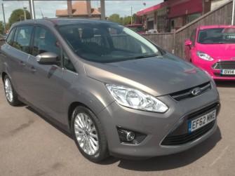 Ford, Grand C Max, Titanium 1.6 Tdci