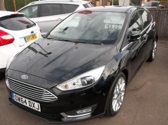 Ford, Focus, Titanium X 1.5t 182 Ps