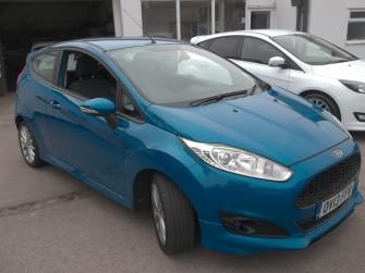 Ford, Fiesta, Zetec S 1.0 Ecoboost 5 Door