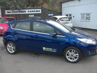 Ford, Fiesta, Zetec 1.0 Ecoboost 5 Door