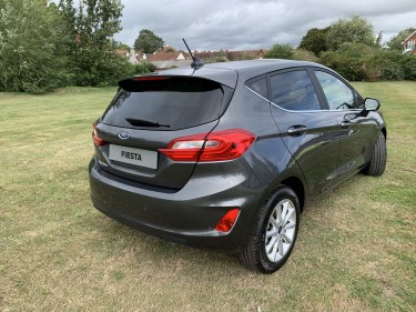 Personal Contract Hire Fiesta Titanium