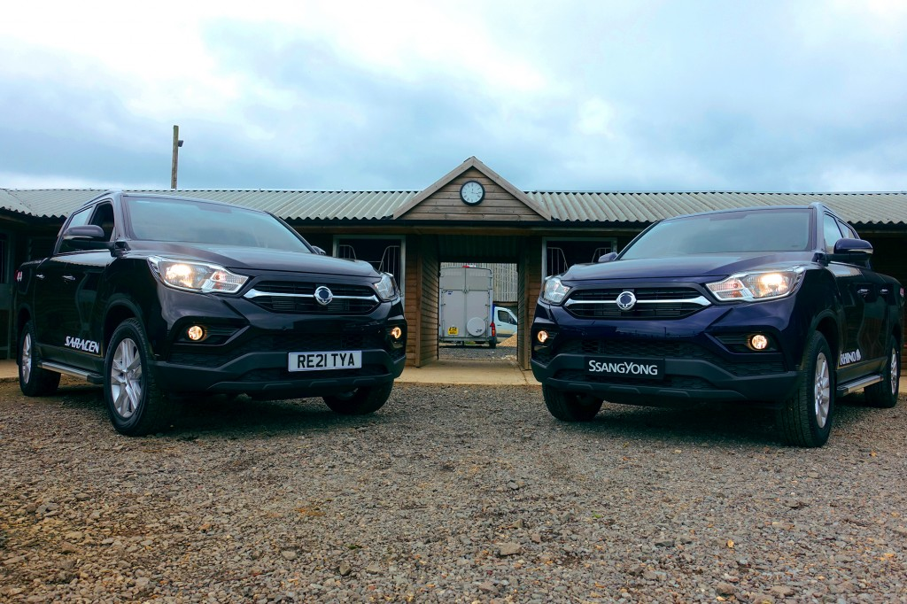 SsangYong, Managers Specials, Musso Saracen